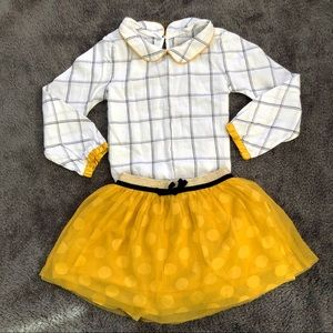 Genuine Kids by OshKosh Skirt & Top Set for Girls